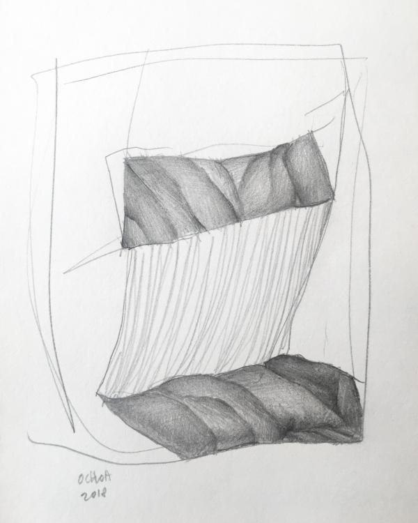 Drawing by Artist Daniel Ochoa