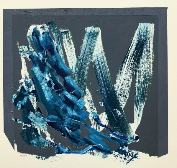 Agua Study 2-26-21 by Artist Daniel Ochoa