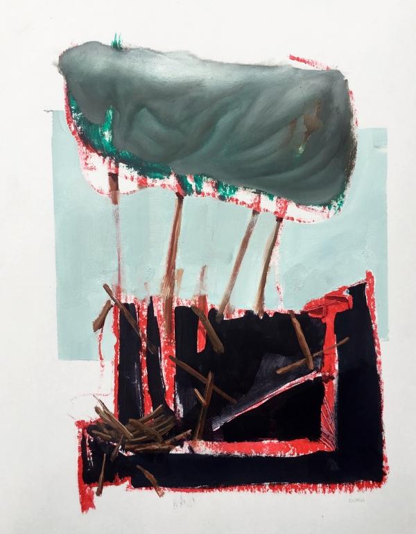 study 3-7-19 by Artist Daniel Ochoa