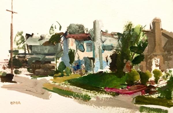 Oakland Study 3-9-18 by Artist Daniel Ochoa