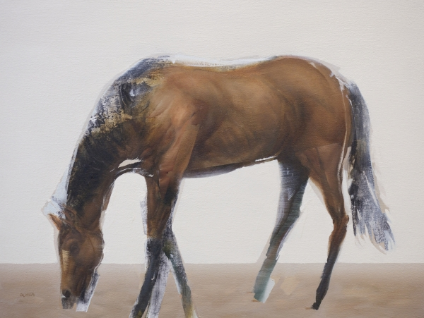 March Horse by Artist Daniel Ochoa