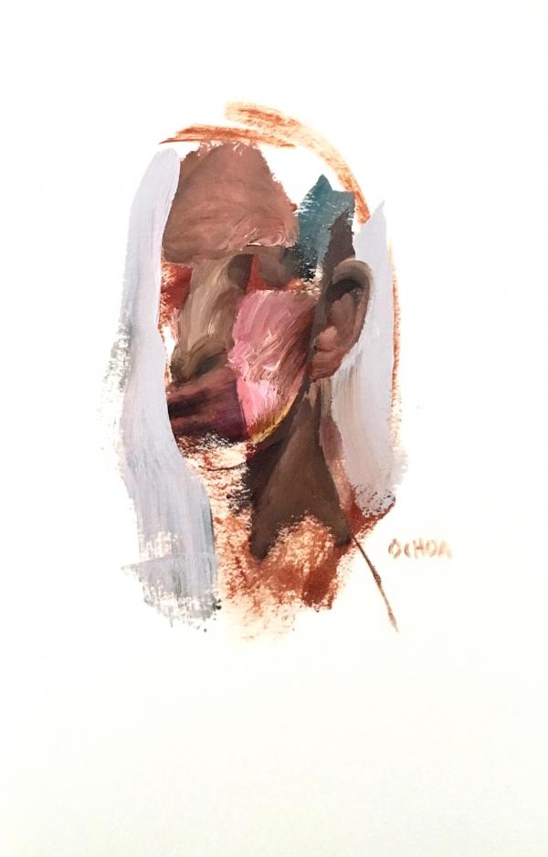 Portrait Study 3-13-18 by Artist Daniel Ochoa