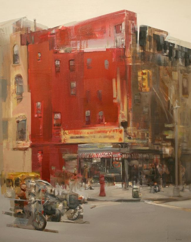 Concurrido Street by Artist Daniel Ochoa