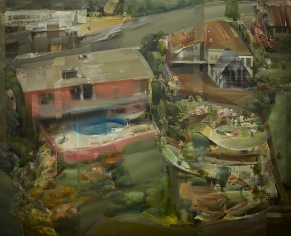 LA Pool by Artist Daniel Ochoa