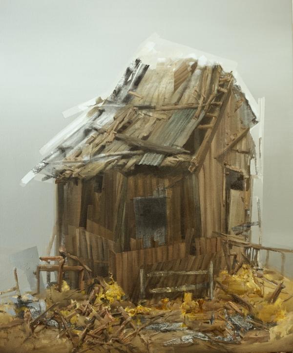 Structure 3-28-18 by Artist Daniel Ochoa
