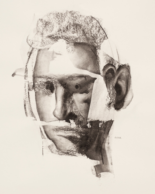 Portrait Study 4-4-17 by Artist Daniel Ochoa