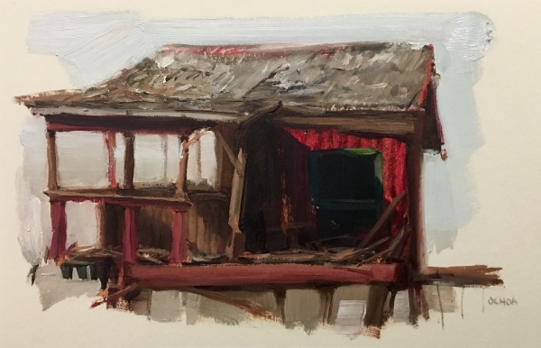 Structure Study 4-5-18 by Artist Daniel Ochoa