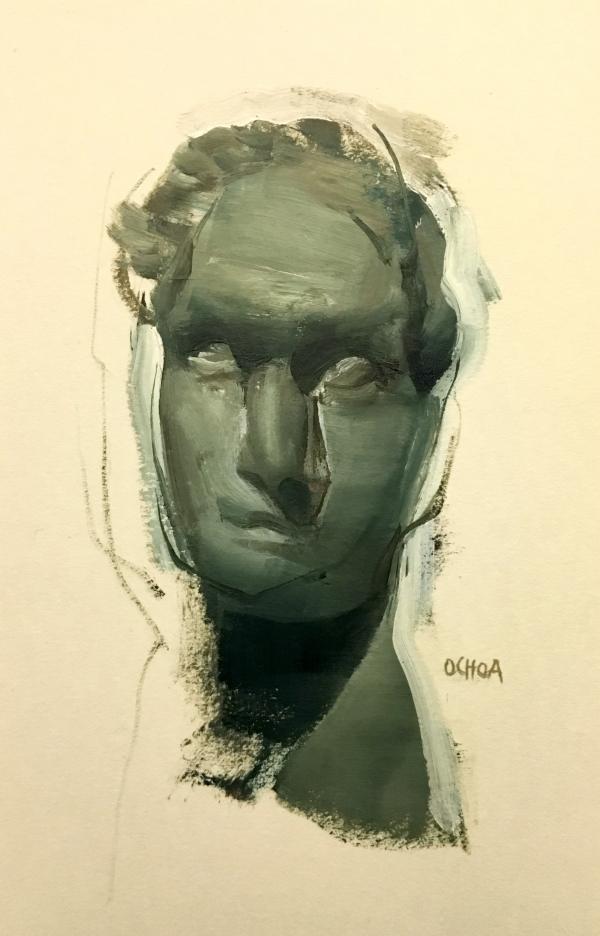 Portrait 4-6-18 by Artist Daniel Ochoa