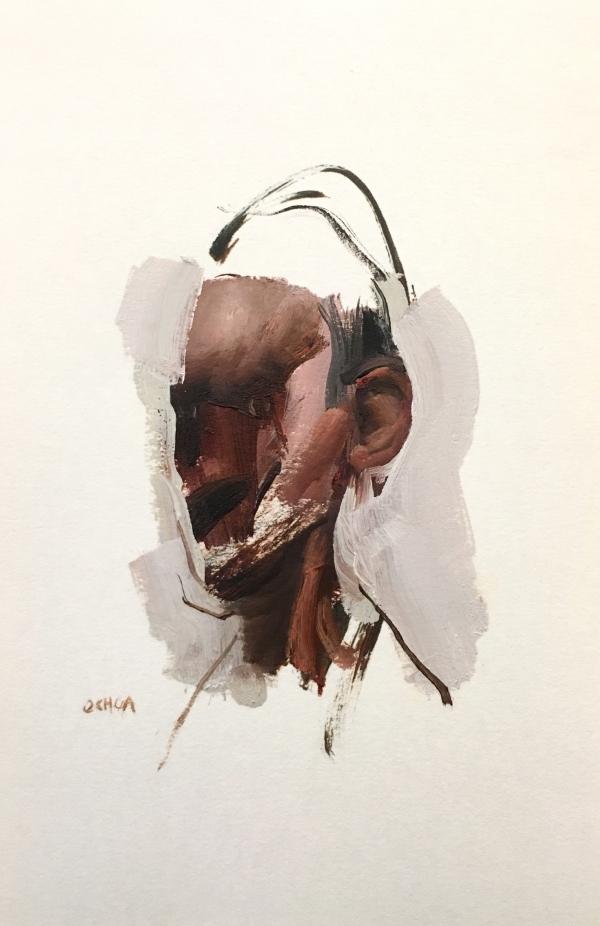 Portrait studio 4-10-18 by Artist Daniel Ochoa