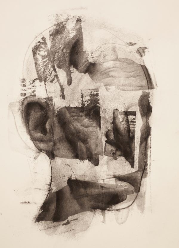 Portrait 4-11-17 by Artist Daniel Ochoa