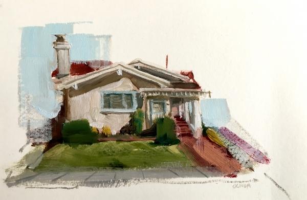 Oakland Study 4-20-18 by Artist Daniel Ochoa