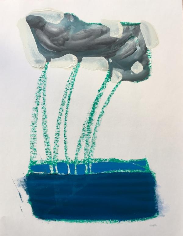 Study Water 4-22-19 by Artist Daniel Ochoa