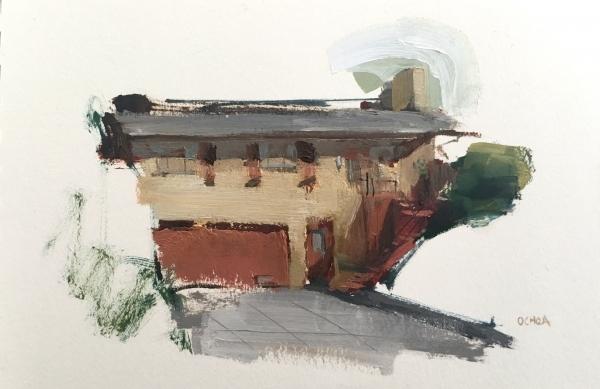 Oakland Study 4-25-18 by Artist Daniel Ochoa