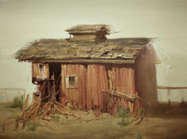 April Barn by Artist Daniel Ochoa