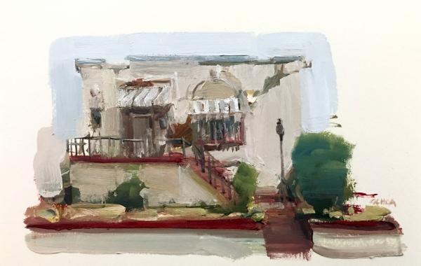 Oakland Study 4-27-18 by Artist Daniel Ochoa