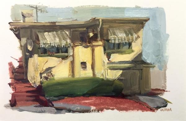 Oakland Study 4-30-18 by Artist Daniel Ochoa