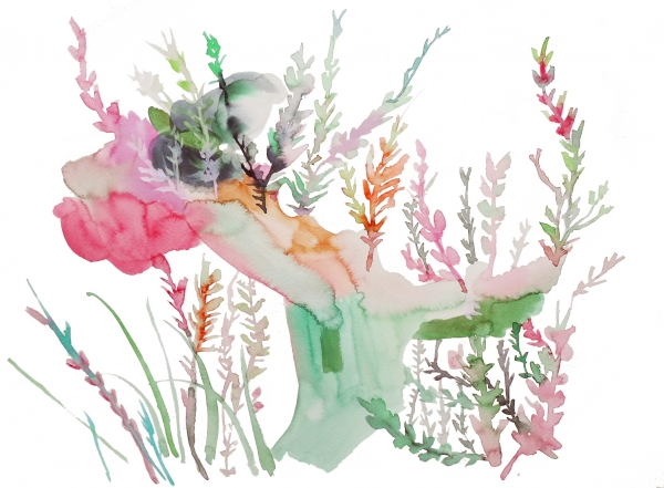 nature by Artist Makiko Furuichi