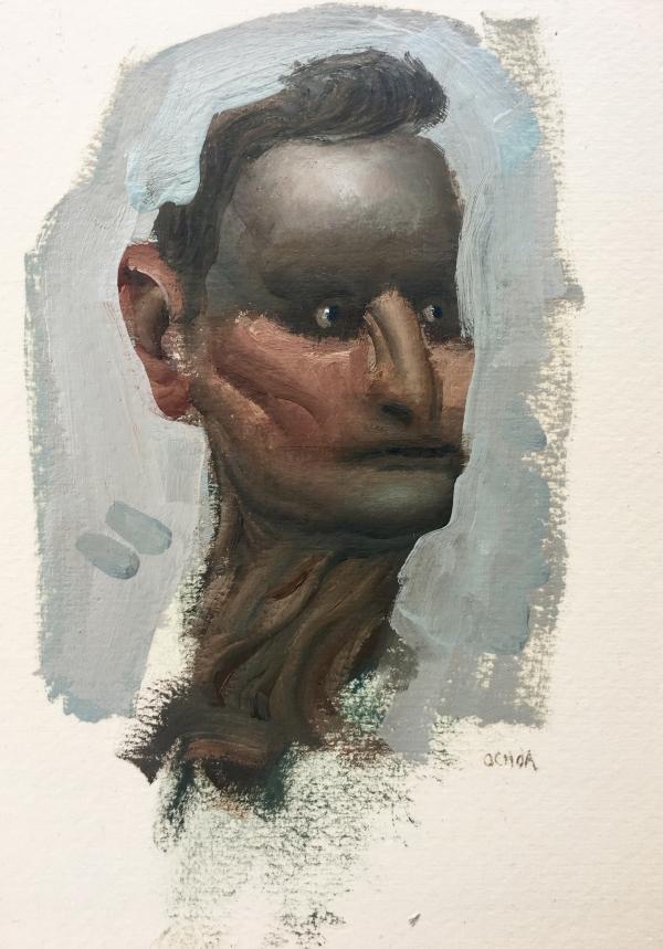 Portrait Study 5-2-19 by Artist Daniel Ochoa