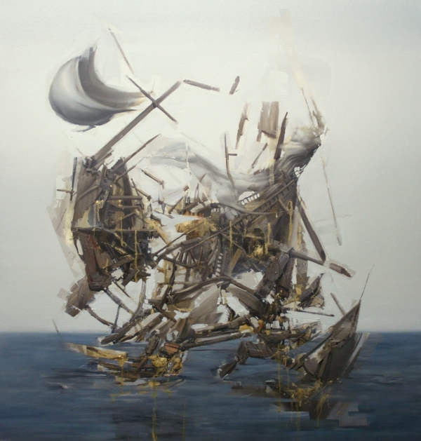 Shipwreck Oro by Artist Daniel Ochoa