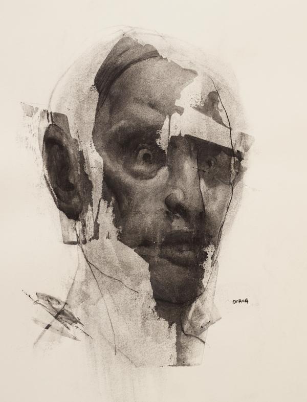Portrait Drawing 5-4-17 by Artist Daniel Ochoa