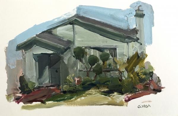 Oakland Study 5-4-18 by Artist Daniel Ochoa