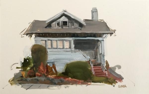 Oakland Study 5-14-18 by Artist Daniel Ochoa