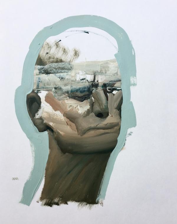 Portrait Study 5-14-19 by Artist Daniel Ochoa