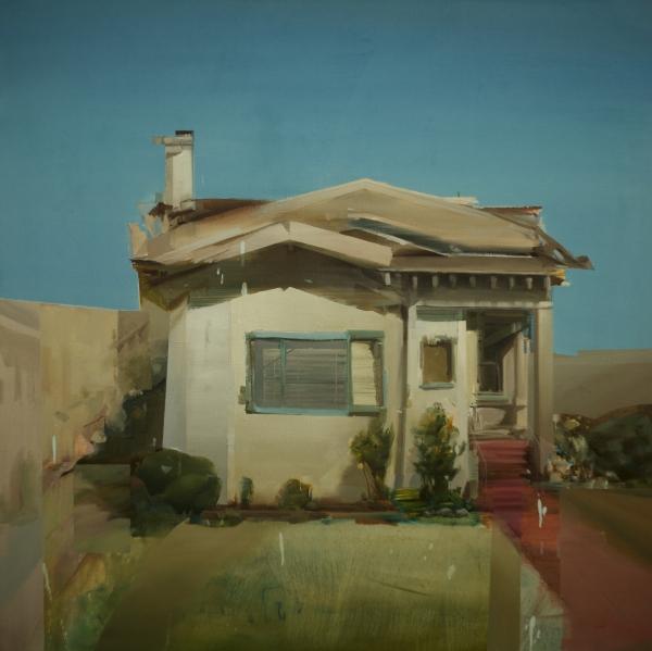 Oakland House by Artist Daniel Ochoa