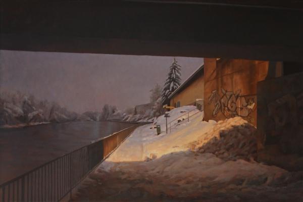 Unter der Bruecke by Artist David Monllor