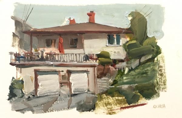 Oakland House 5-22-08 by Artist Daniel Ochoa