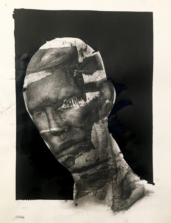 Portrait Study 6-19-19 by Artist Daniel Ochoa