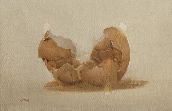 Egg Study 7-2-19 by Artist Daniel Ochoa