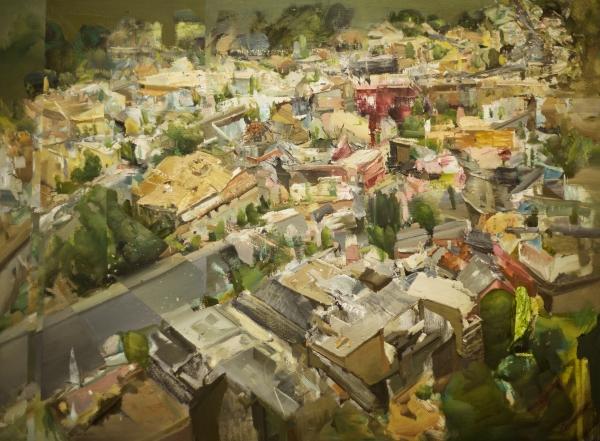 SF Split by Artist Daniel Ochoa