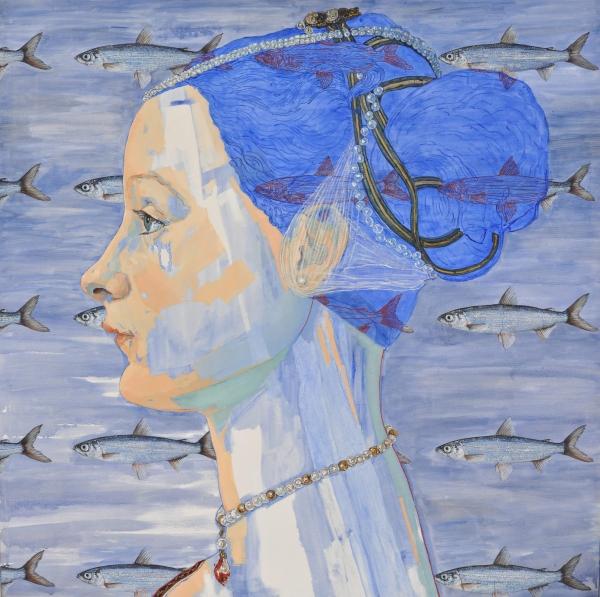 Los Despiertos serie by Artist Paulina X. Miranda