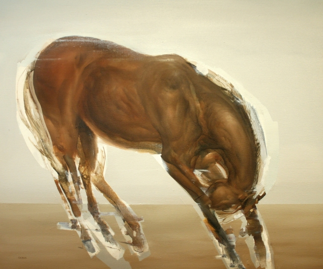 Horse by Artist Daniel Ochoa