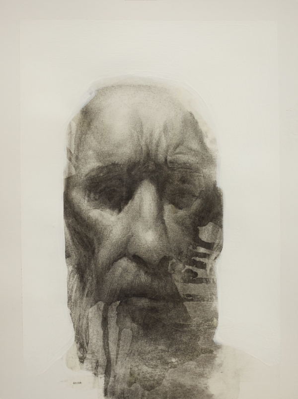 Old man 2012 by Artist Daniel Ochoa