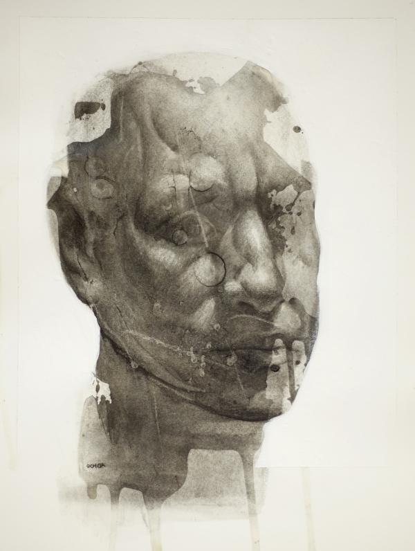 Portrait Study 2012 by Artist Daniel Ochoa