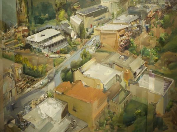 SF Uphill by Artist Daniel Ochoa