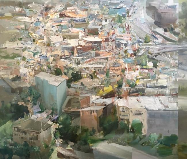 SF August by Artist Daniel Ochoa