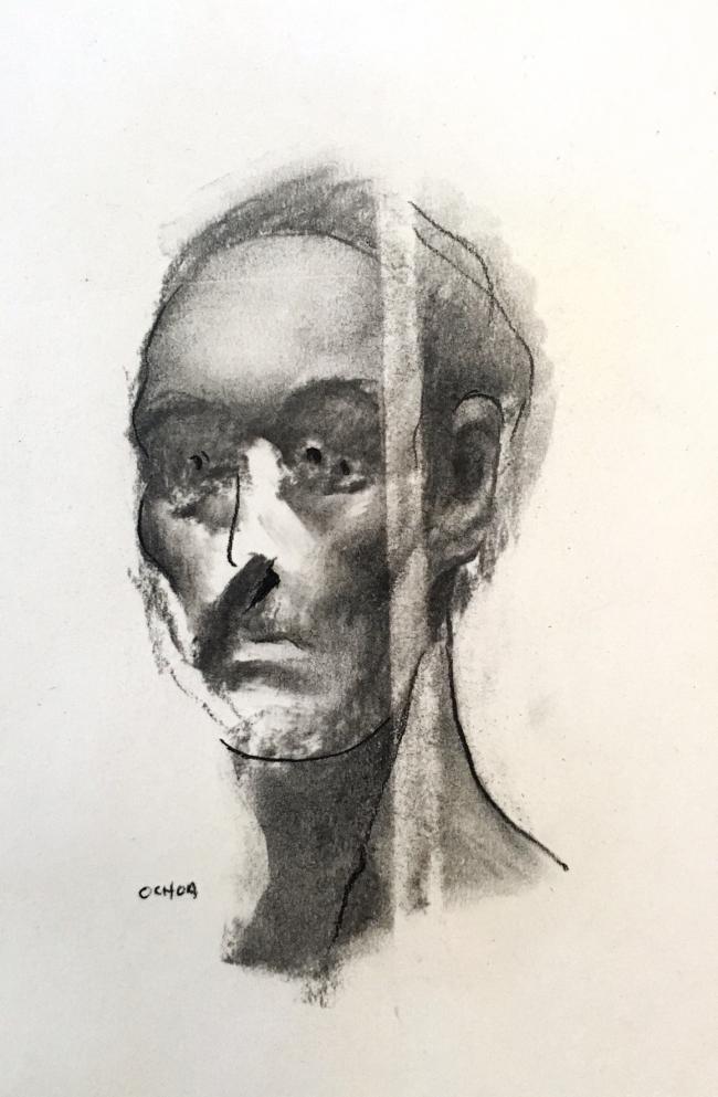 Drawing Study 8.13.16 by Artist Daniel Ochoa