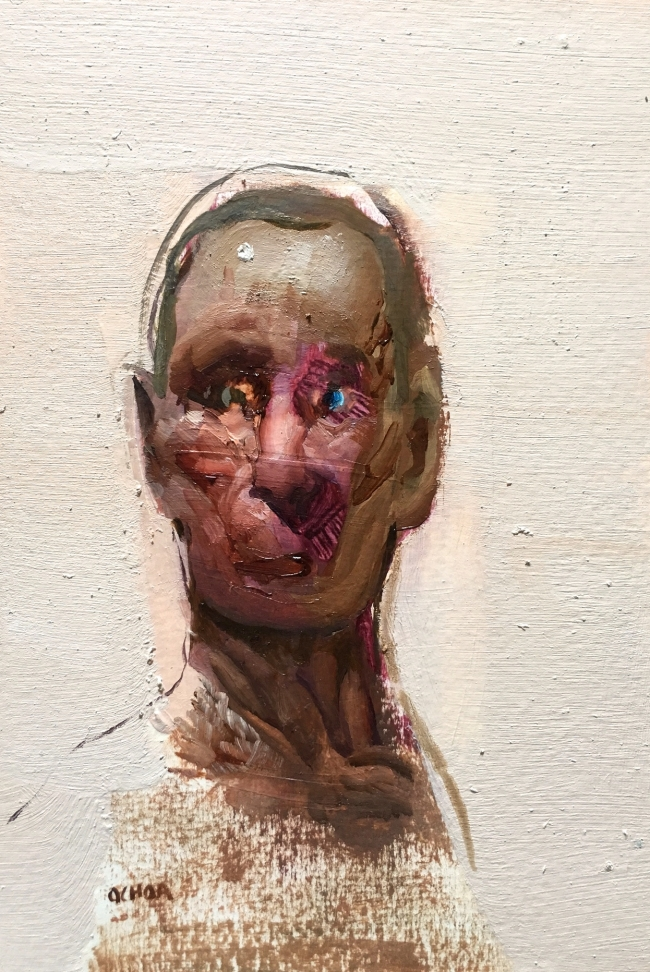 painting study 8.27.16 by Artist Daniel Ochoa