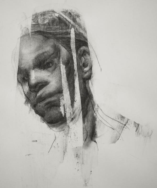 Portrait 9-12-17 by Artist Daniel Ochoa