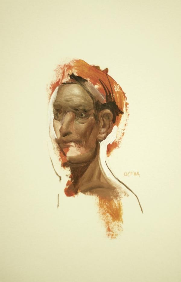 Portrait 9-17-17 by Artist Daniel Ochoa