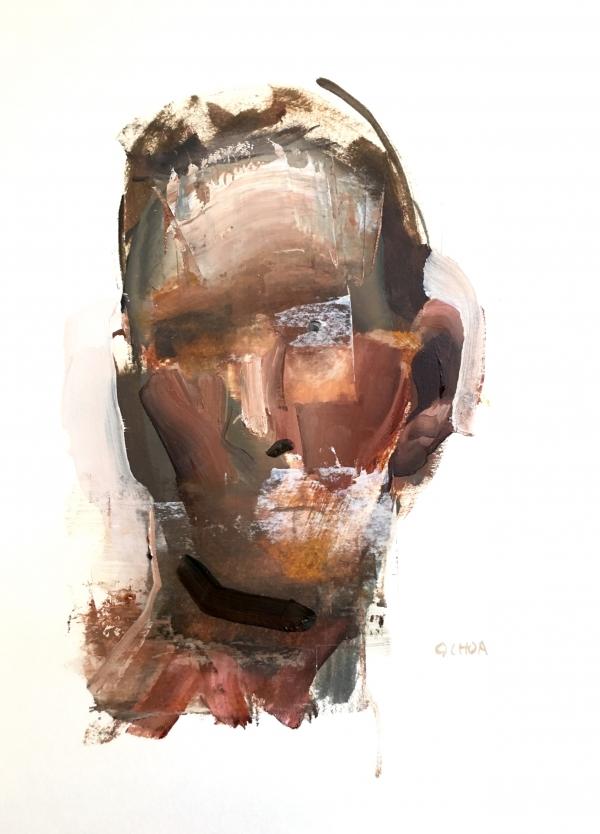 Portrait Study 9-17-18 by Artist Daniel Ochoa