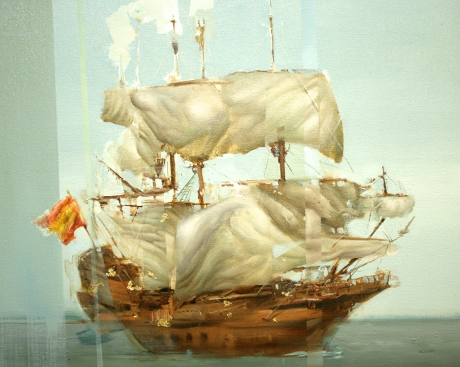 Spanish Ship by Artist Daniel Ochoa