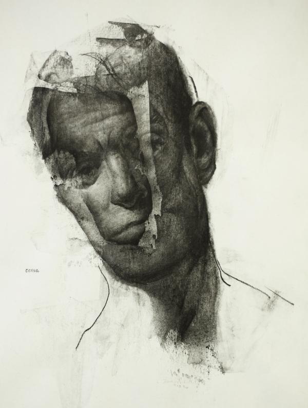 Portrait Study 10-1-17 by Artist Daniel Ochoa
