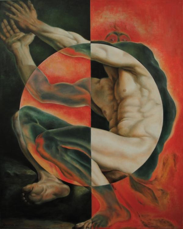 Yin Yang by Artist Masha Gusova