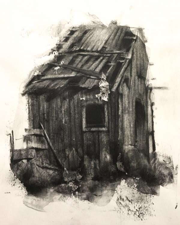 Structure Study 10-7-17 by Artist Daniel Ochoa