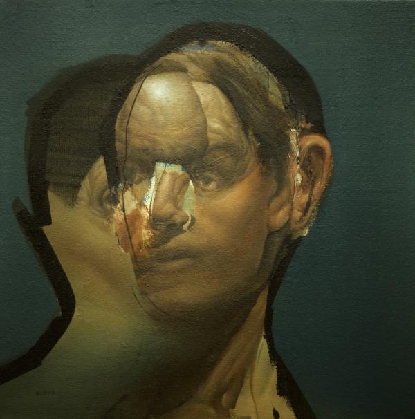 Portrait Study 10-9-17 by Artist Daniel Ochoa