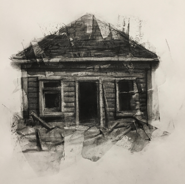 Structure Study 10-16-17 by Artist Daniel Ochoa